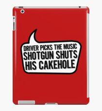 Shotgun iPad Case/Skin