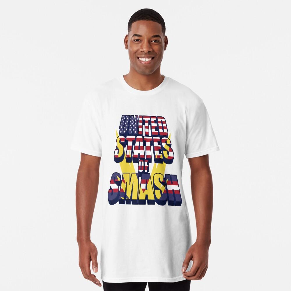 United States of Smash Long T-Shirt