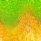 Abstract Sunflower by blackhalt