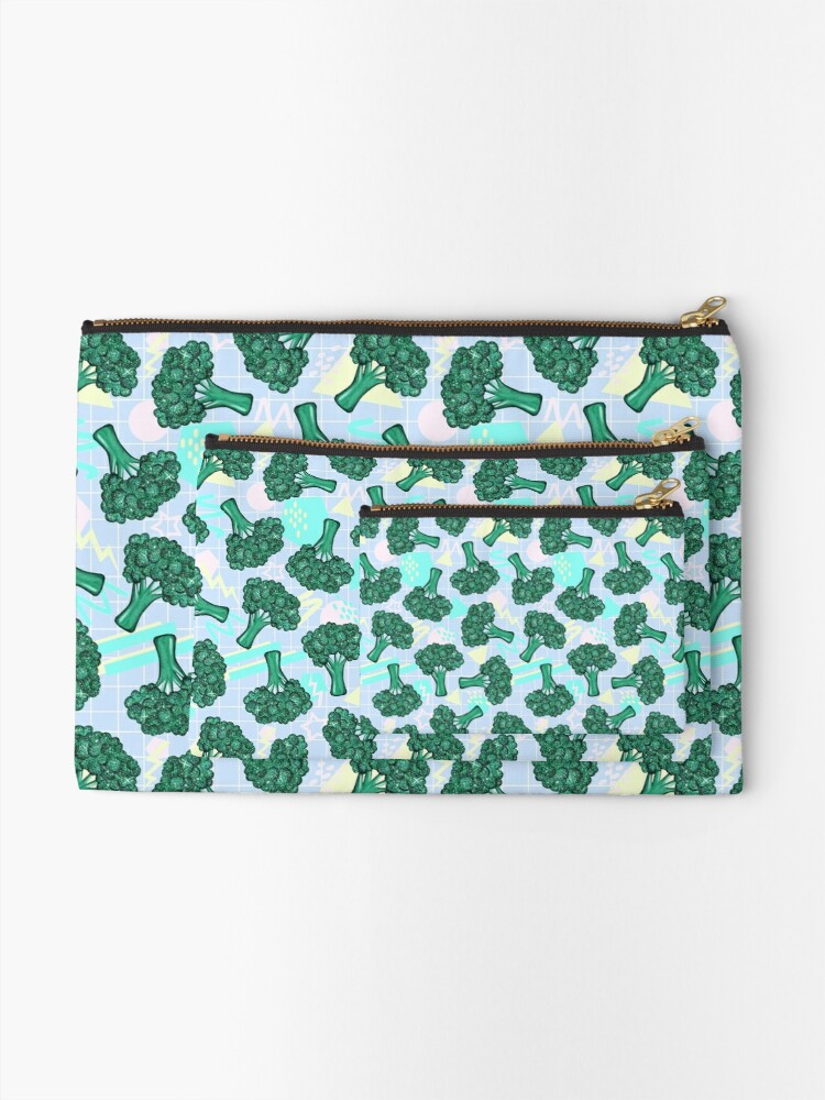 Alternate view of Broc On! Zipper Pouch
