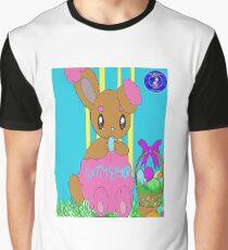 Happy Easter Theme Pokemon Shiny Buneary  Graphic T-Shirt