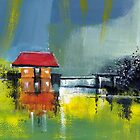 Red House Dream by Anil Nene