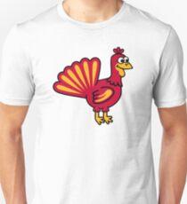 Comic turkey Unisex T-Shirt