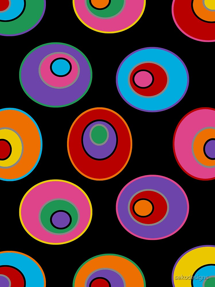 Retro Art - Vivid Colour #3 by sekodesigns