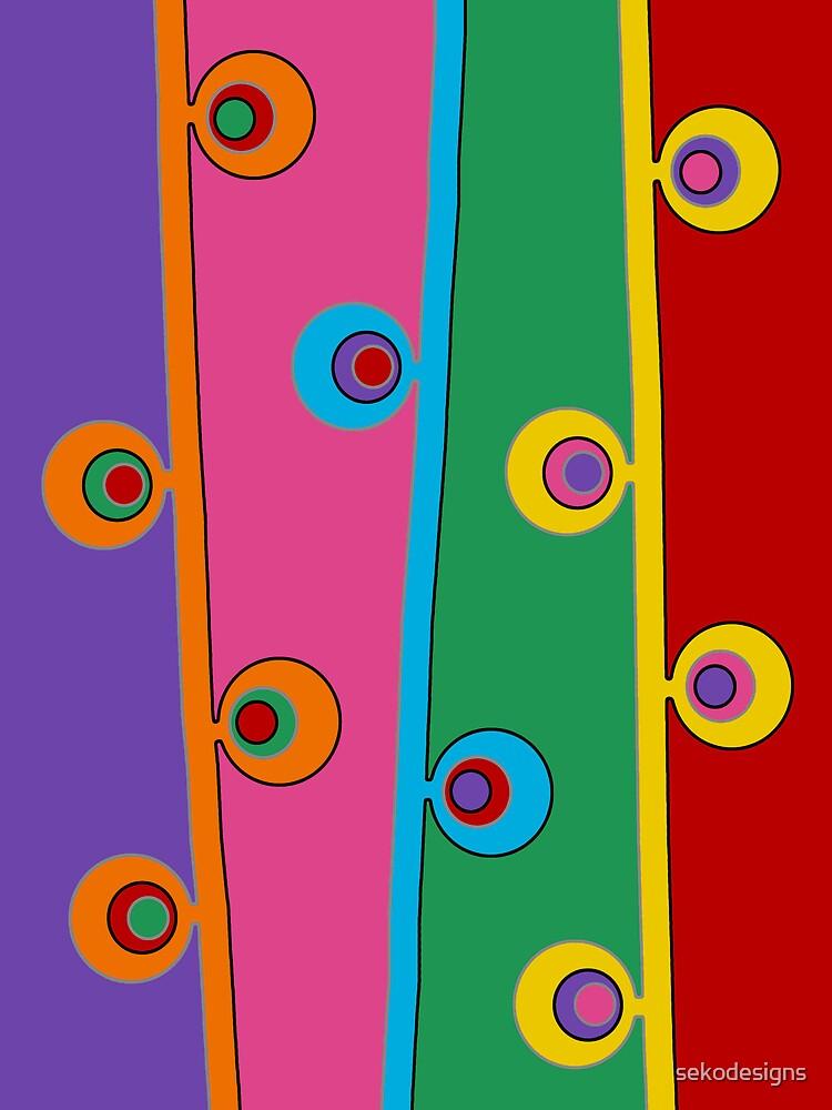 Retro Art - Vivid Colour #6 by sekodesigns