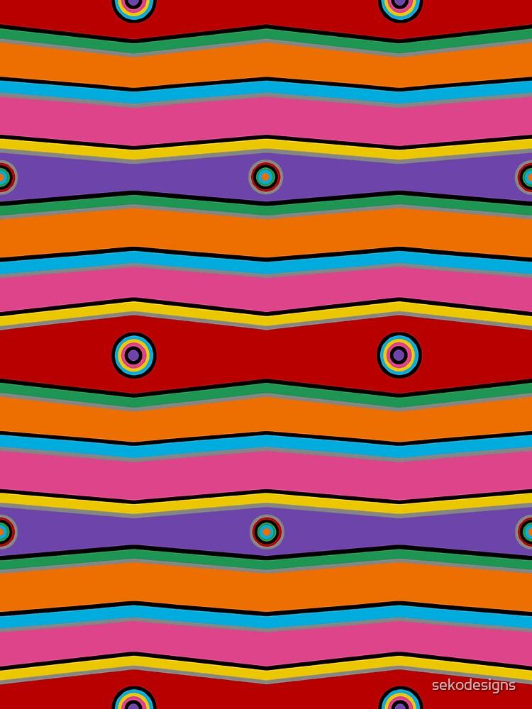 Retro Art - Vivid Colour #10 by sekodesigns