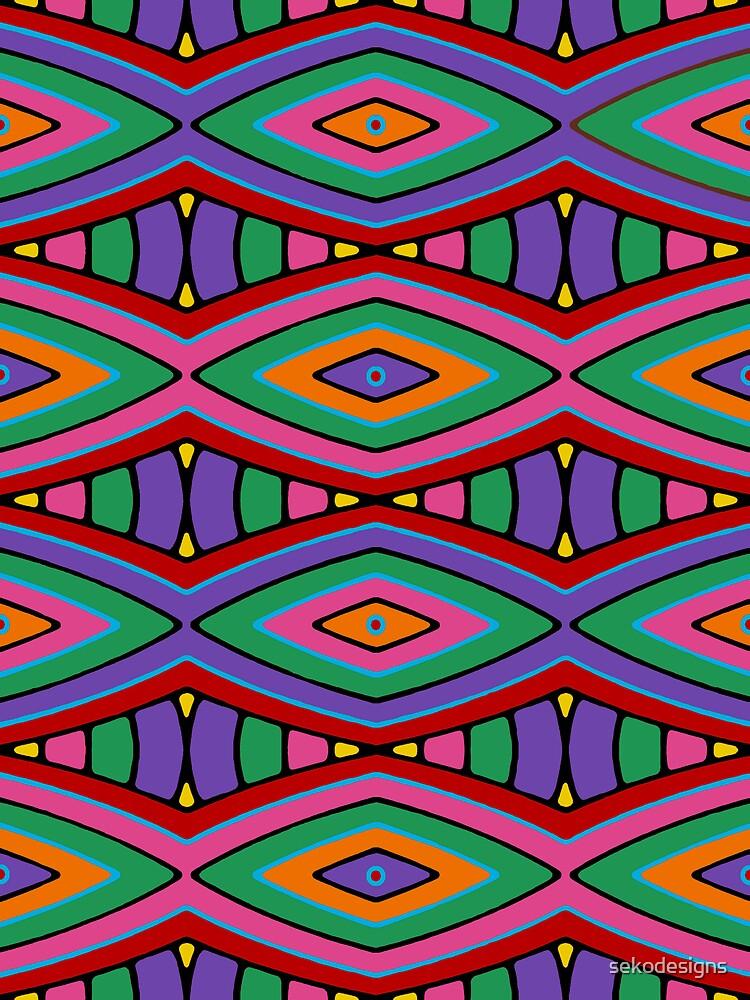 Retro Art - Vivid Colour #12 by sekodesigns