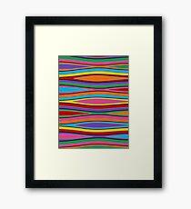 Retro Art - Vivid Colour #15 Framed Print