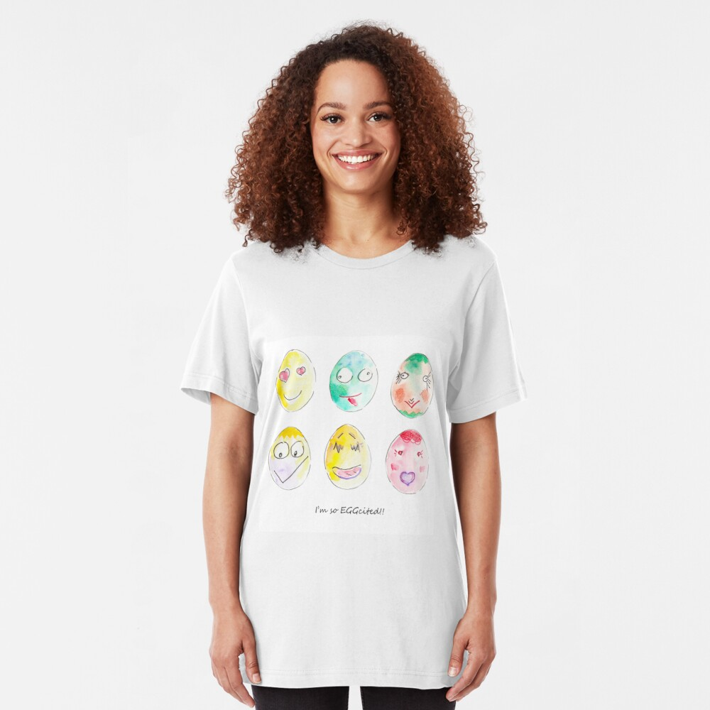 I'm so eggcited!! Slim Fit T-Shirt