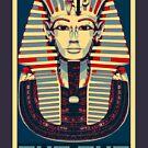 Tutankhamun 'King Tut' Hope Poster (Tut Tut) by Steve Crompton