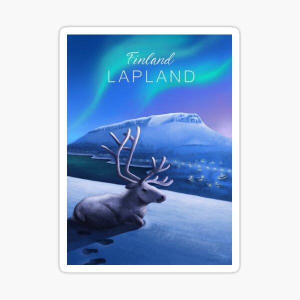Finnish Lapland Sticker