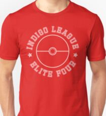 Pokemon - Indigo League Elite Four Unisex T-Shirt