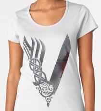 Vikings HD logo Women's Premium T-Shirt