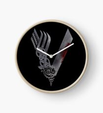 Vikings HD logo Clock