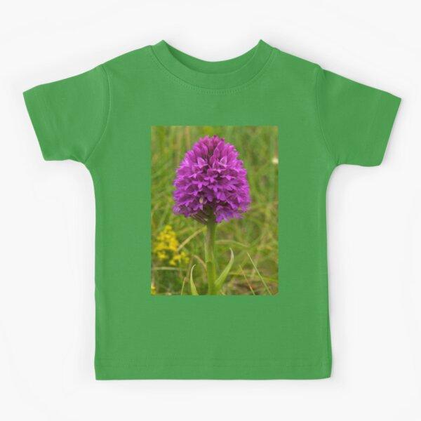 Pyramidal Orchid, Inishmore Kids T-Shirt