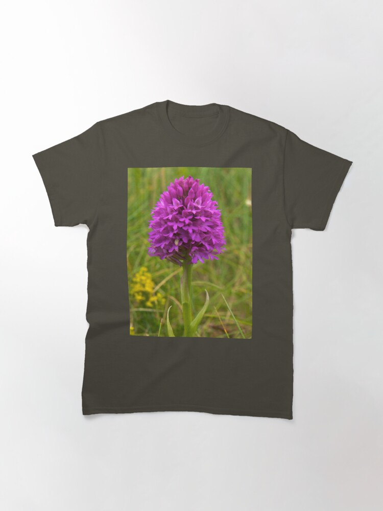 Alternate view of Pyramidal Orchid, Inishmore Classic T-Shirt
