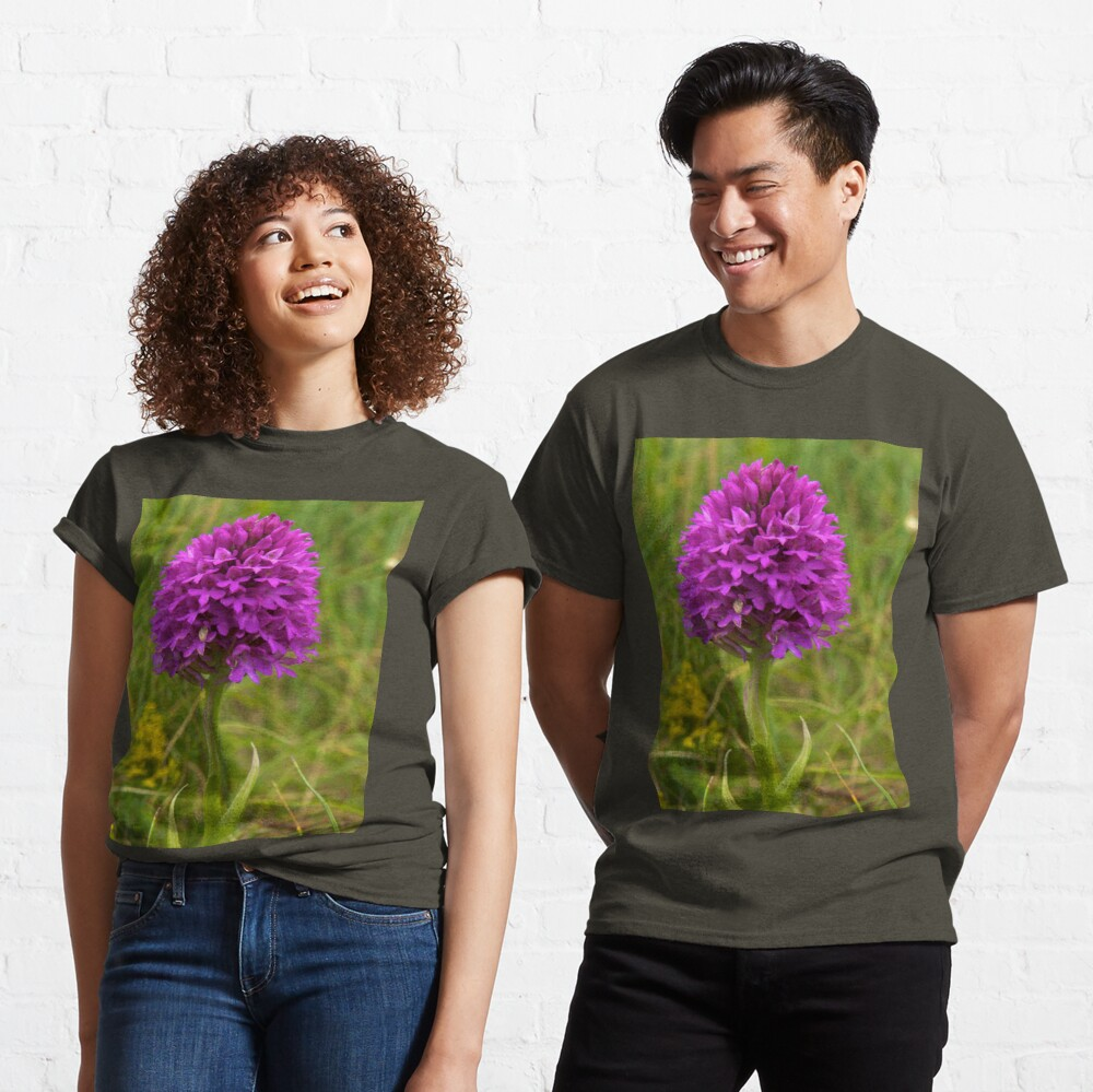 Pyramidal Orchid, Inishmore Classic T-Shirt