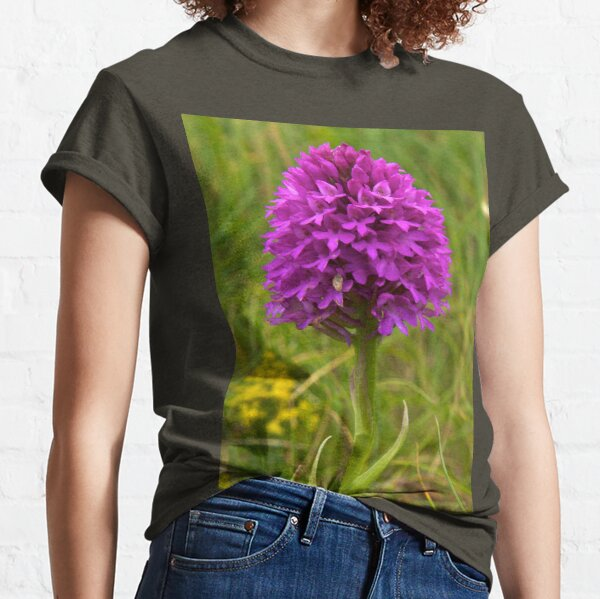 Pyramidal Orchid, Inishmore Classic T-Shirt