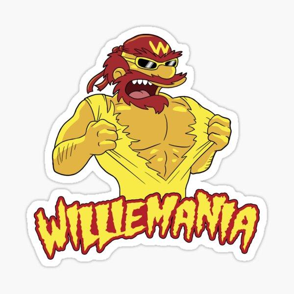 Williemania Sticker