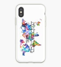 Travel experiences iPhone Case