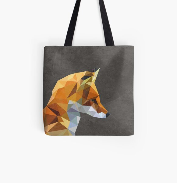 LP Fox All Over Print Tote Bag