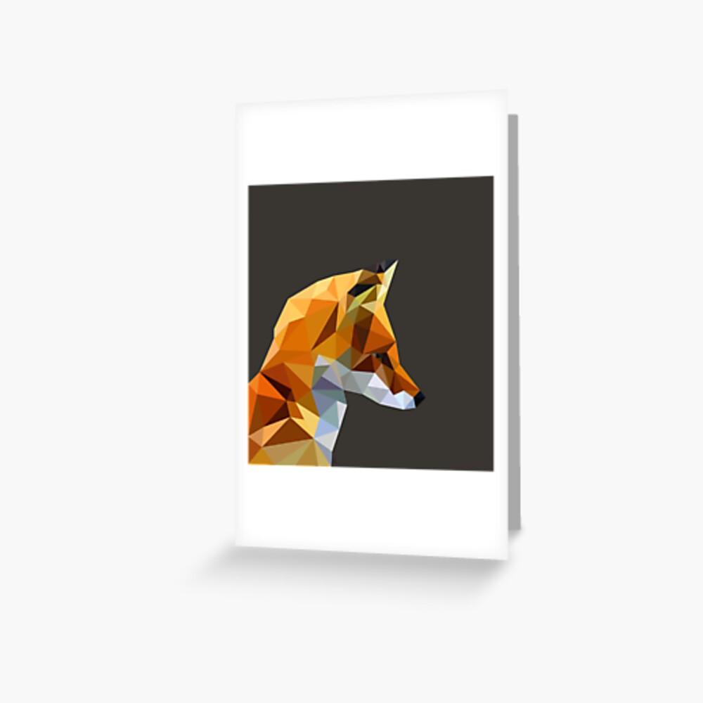 LP Fox Greeting Card