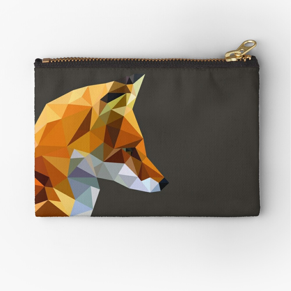 LP Fox Zipper Pouch