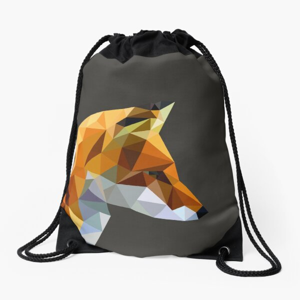 LP Fox Drawstring Bag