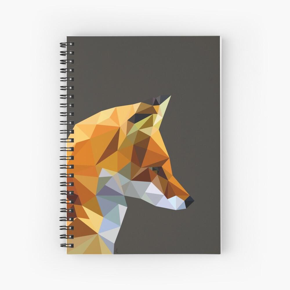 LP Fox Spiral Notebook
