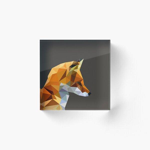 LP Fox Acrylic Block