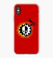 Adeptus Mechanicus 40k Symbol iPhone Case