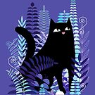The Ferns (Black Cat Version) by littleclyde
