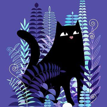 The Ferns (Black Cat Version) by littleclyde