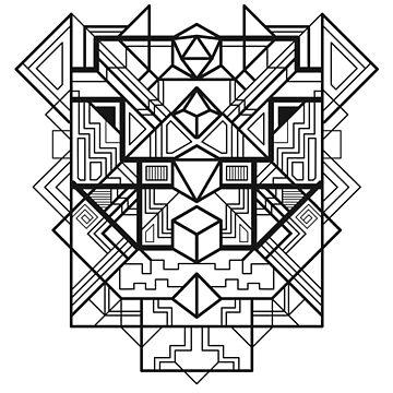 Dice Deco Black by artlahdesigns