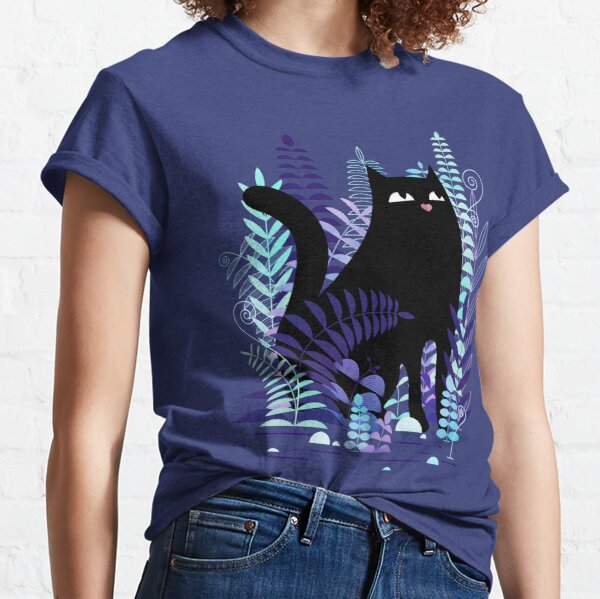 The Ferns (Black Cat Version) Classic T-Shirt