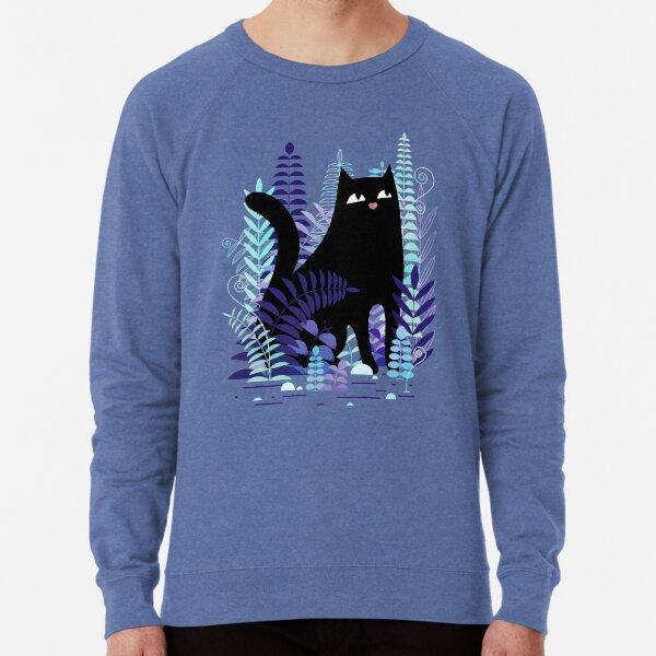 The Ferns (Black Cat Version) Lightweight Sweatshirt