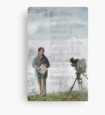 The Reporter Canvas Print