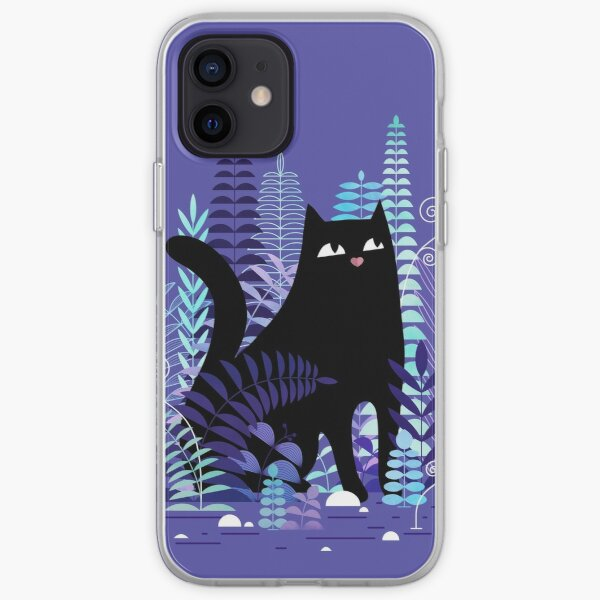 The Ferns (Black Cat Version) iPhone Soft Case