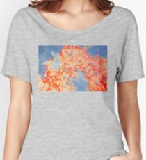 Psychedelic Abstract Women's Relaxed Fit T-Shirt