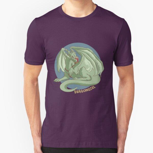 Dragon girl Slim Fit T-Shirt