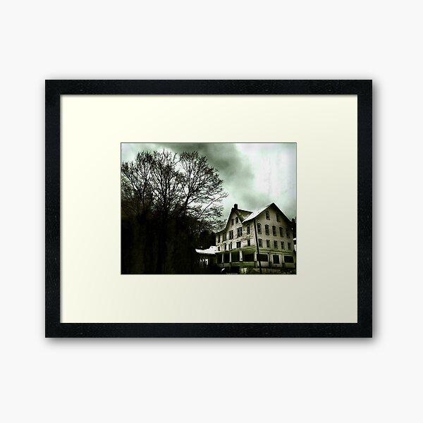 Henryville House Framed Art Print