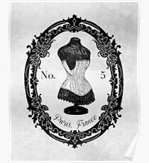 Woman Corset Poster
