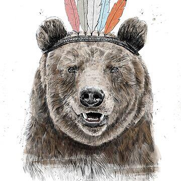 Festival bear by soltib