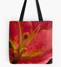 Macro lily Tote Bag
