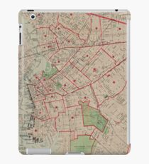 Vintage Map of Brooklyn NY (1895) iPad Case/Skin