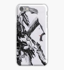 Lade de silhouette iPhone Case/Skin
