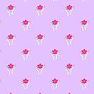«Patrón de orquídea sagrada» de EuGeniaArt