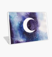 space (crescent moon) Laptop Skin