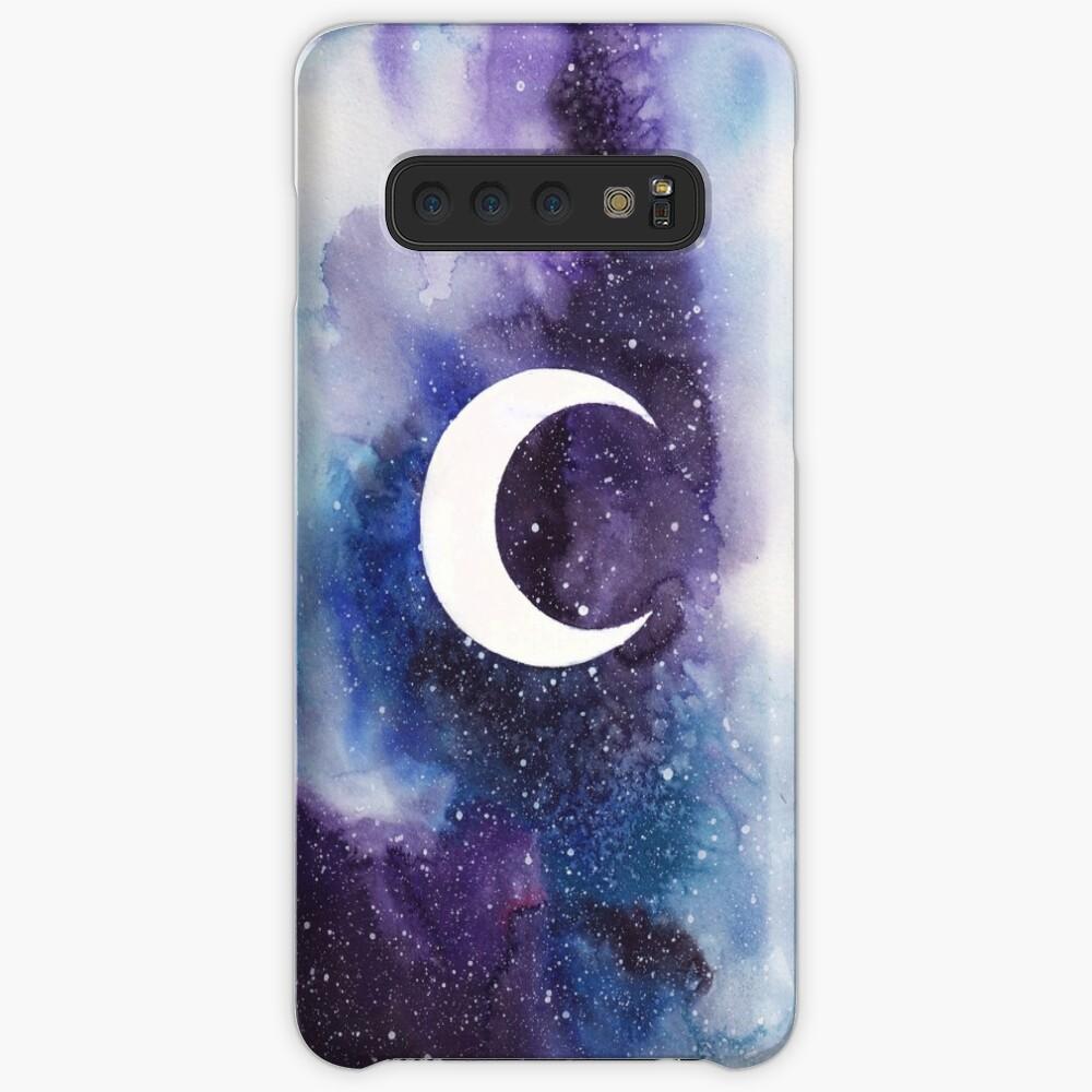 Raum (Mondsichel) Hüllen & Klebefolien für Samsung Galaxy