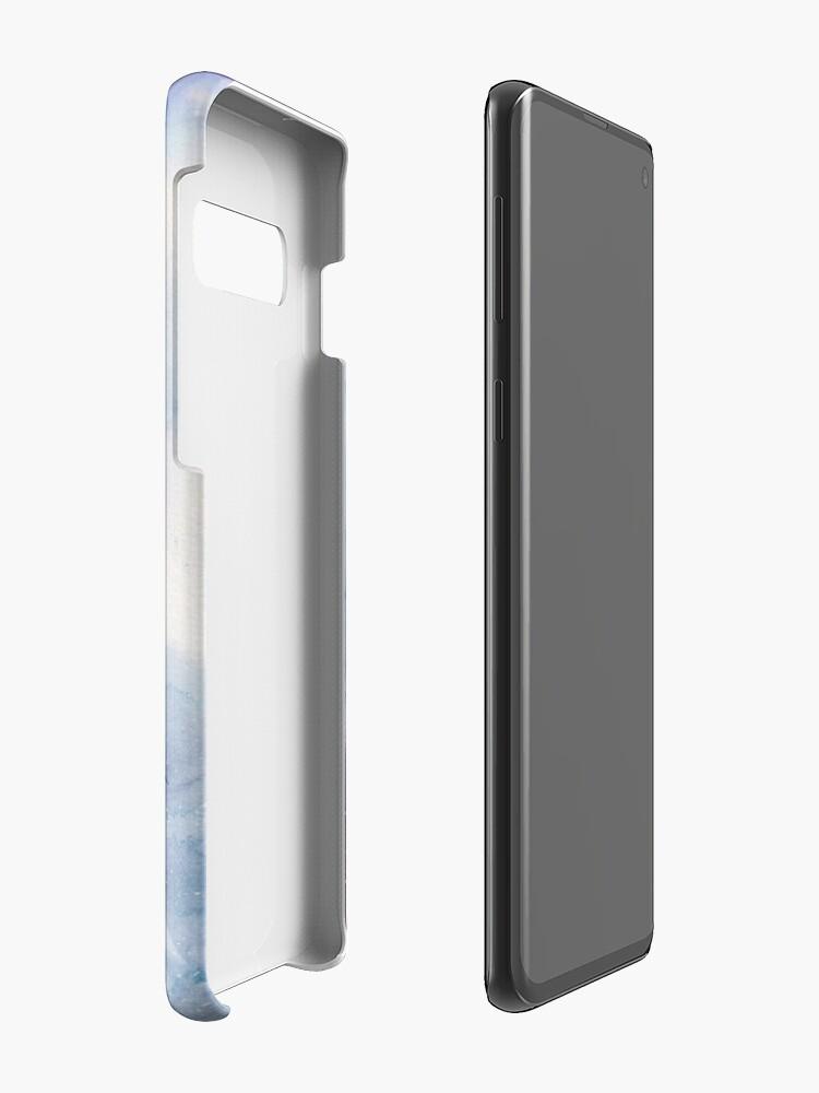 Alternative Ansicht von Raum (Mondsichel) Hüllen & Klebefolien für Samsung Galaxy
